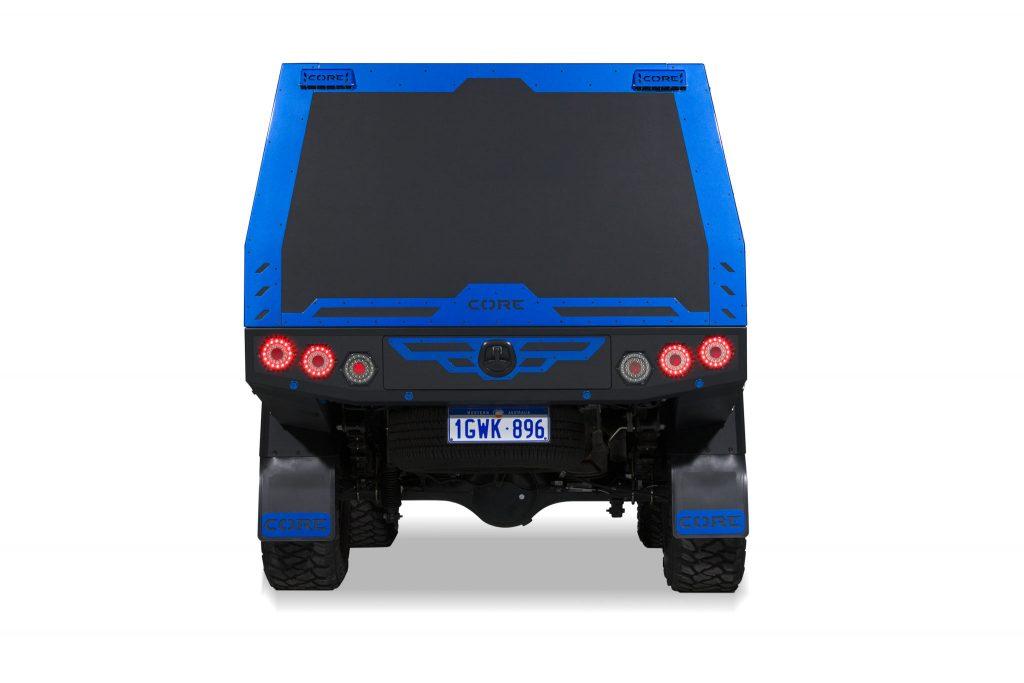 Ford Ranger – BLUEY – GTU - back