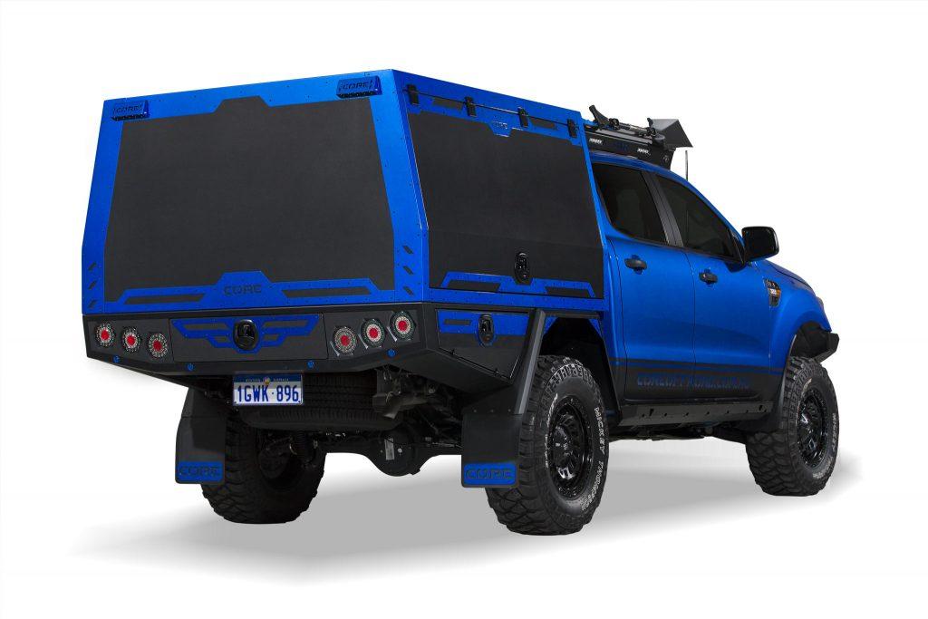 Ford Ranger – BLUEY – GTU - back-side