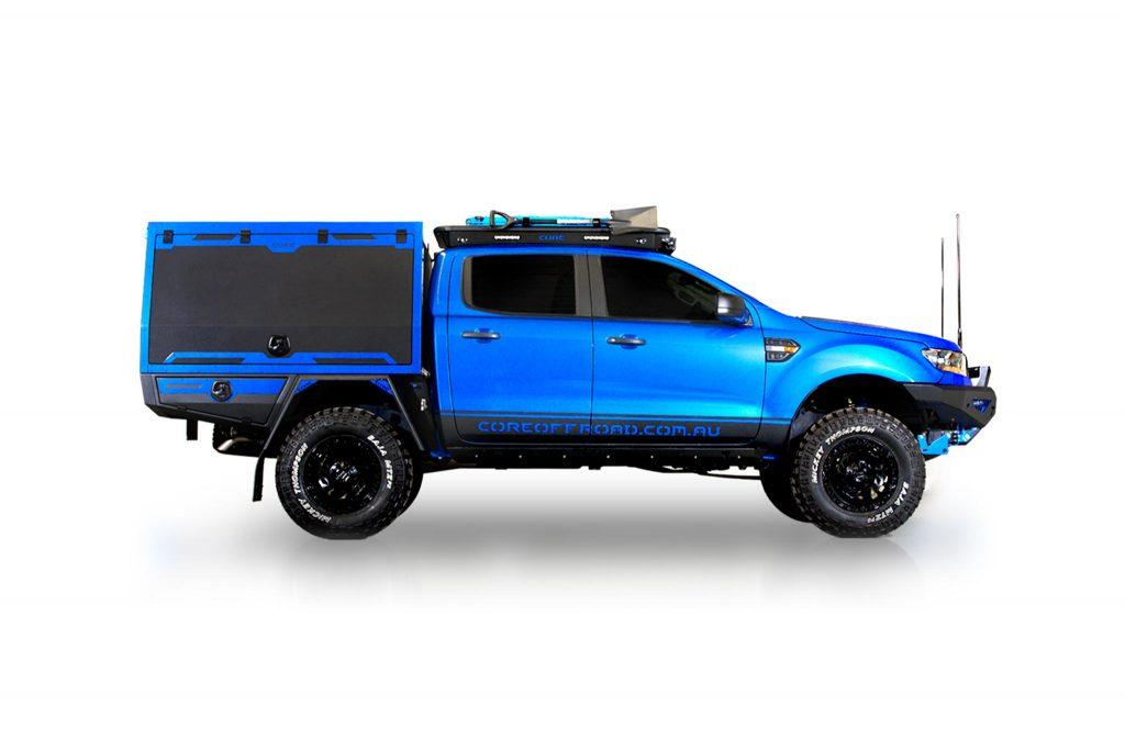 Ford Ranger – BLUEY – GTU - side profile