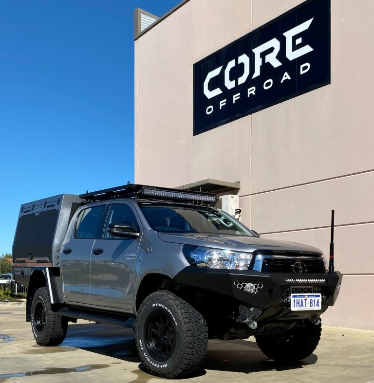 Silver GT Hilux - Core Offroad