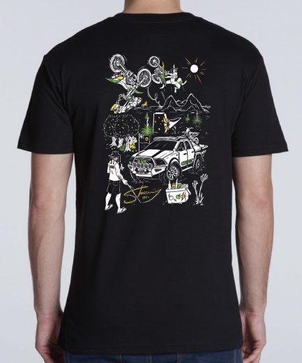 Core Offroad - Sheeny t-shirt - Back-2
