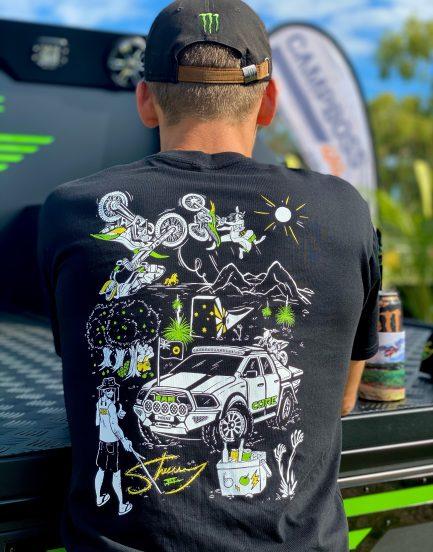 Core Offroad - Sheeny t-shirt - Back