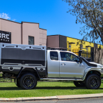 Hilux Extra Cab Canopy Build