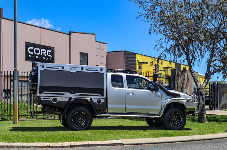 Hilux Extra Cab Canopy - Core Offroad