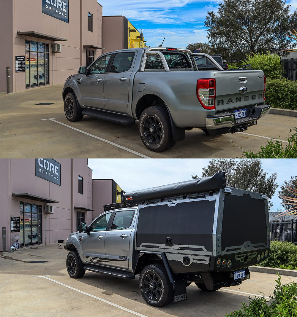 Ford Ranger XLT with GT Canopy – Amazing Transformation