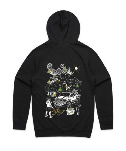 sheeny hoodie back