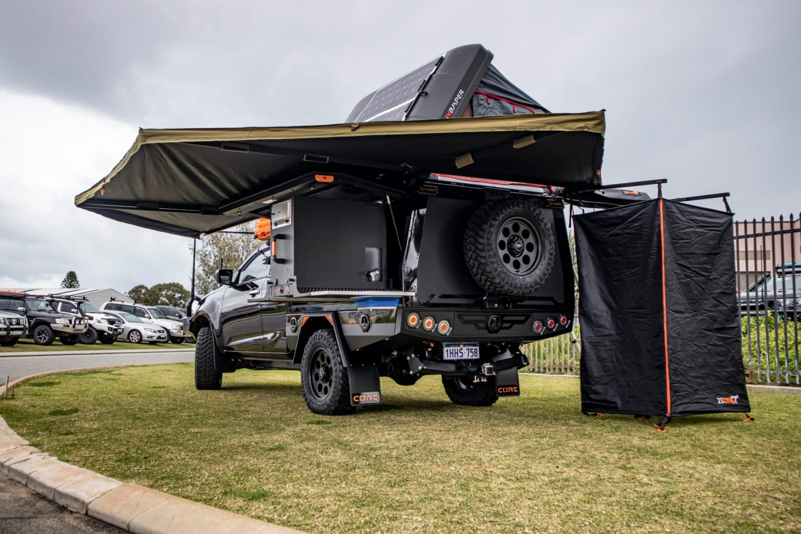 You are currently viewing Isuzu D-Max Freestyle Cab with GTU Canopy