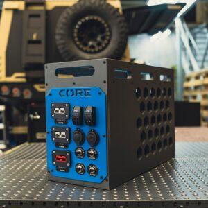 Power Box Dark Grey-Blue